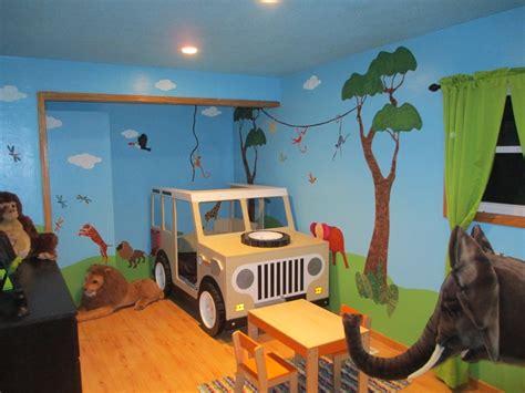 safari jeep craft love of travel and animals inspires jungle safari mural