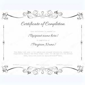 certificate of completion 07 word layouts