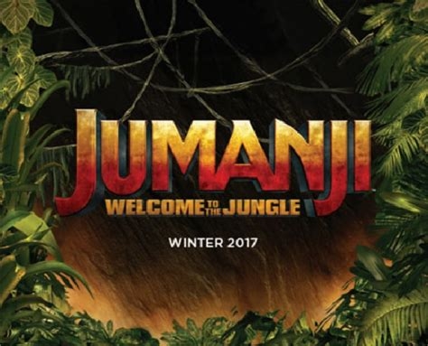 movies released today jumanji welcome to the jungle by dwayne johnson jumanji welcome to the jungle gets new promotional image