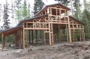pole barn house blueprints