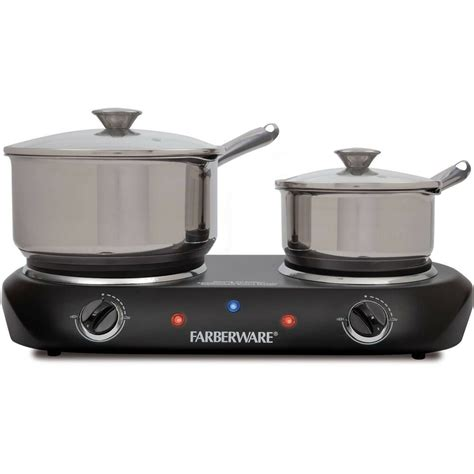 two burner cooktop electric stove top high powered 2 burners cooktop range