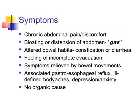 Stool No Other Symptoms by Ibs