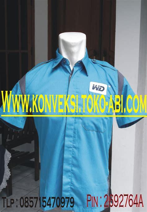 Orderan Ge baju seragam kerja konveksi seragam