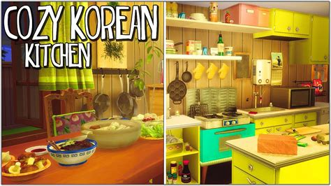 Japanese Inspired House sims 4 cozy kitchen korean inspired cc youtube