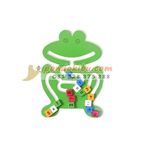 Mainan Edukasi Ebook Anak Belajar Huruf mainan anak edukatif maze frog pondok ibu
