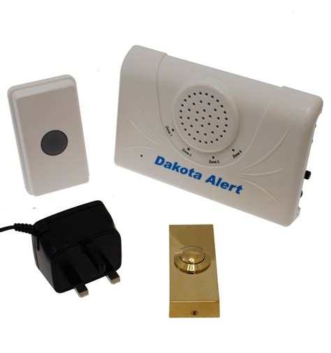 Bell Wireless range wireless doorbell 800 metre range brass