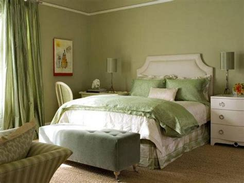 green bedroom colors natural green color schemes for modern bedroom and