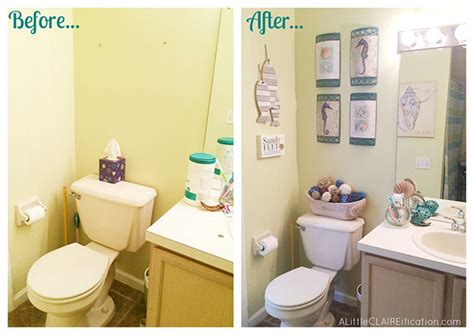 54 best images about beach theme bathroom on pinterest beach themed bathroom a small space makeover giveaway