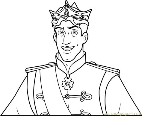 prince naveen coloring page free the princess and the