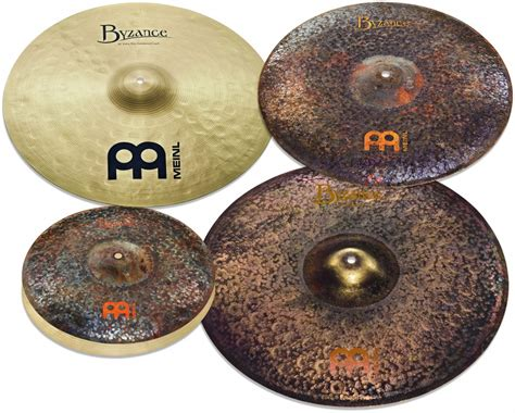 Meinl Cymbal Divider 14 Set mike johnston byzance pack 14 quot 18 quot 20 quot 21 quot