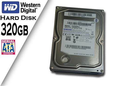 Hardisk Western Digital 320gb 320gb Disk Western Digital Econo Pc