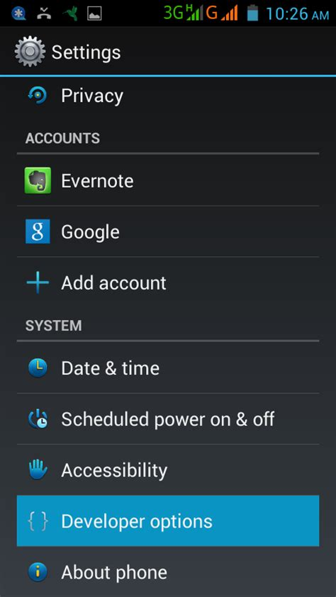 android developer options android page 15 mobilitaria