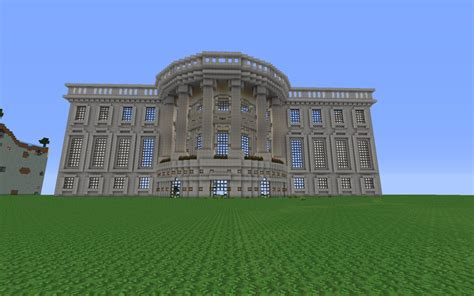 My House Plan white house replica minecraft project