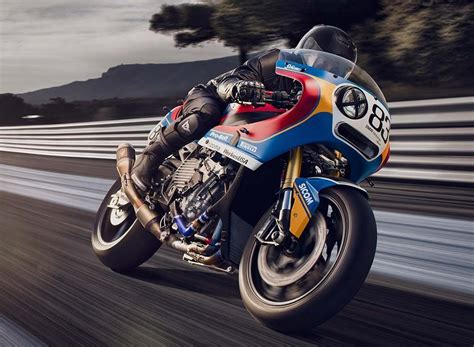 bmw s1000rr history pra 235 m bmw s1000rr racing custom from the 80s