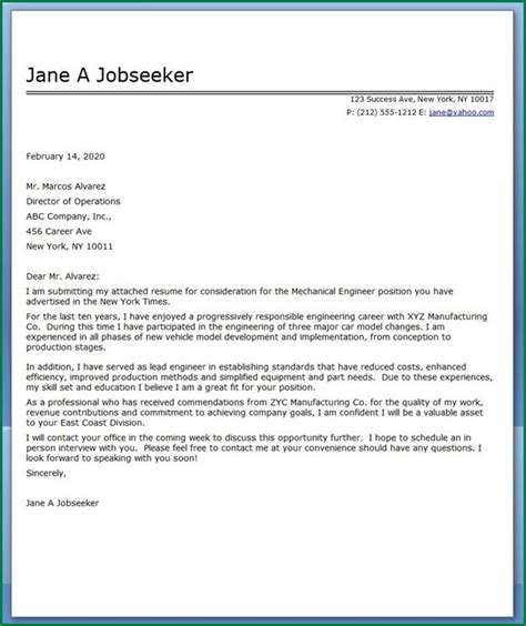 air quality engineer cover letter unique water manager inside