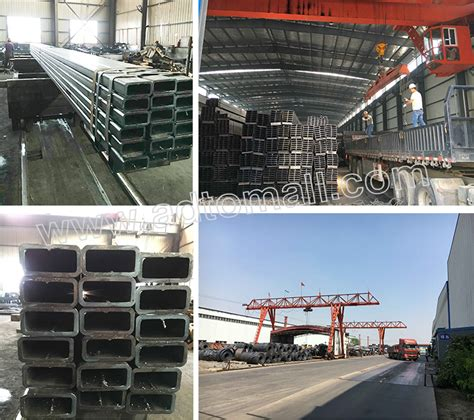Rectangular Hollow Structural Sections by Rectangular Black Steel Pipe Rhs Hollow Section For Wholesale