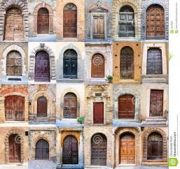 Interior Photography Singapore Old Door Collage Royalty Free Stock Photography Image