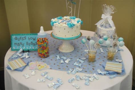 Decorating Ideas For Baby Shower Gift Table Baby Shower Table Decorations Health And Fitness