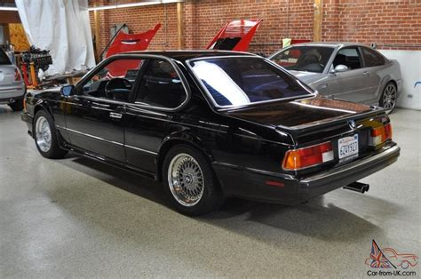 1988 bmw m6 series 1988 bmw m6 mint