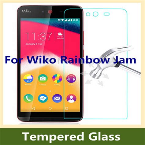 Tempered Glass Wiko Sunset ultra thin 9h 2 5d explosion proof safety tempered glass screen protector for wiko rainbow