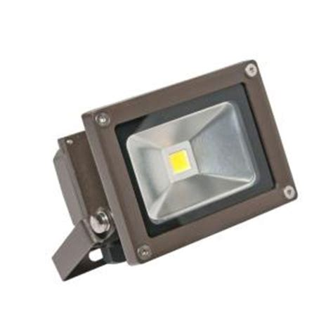 Led Flood Lights Home Depot by Irradiant 1 Bronze Led Day Light Outdoor Wall Mount