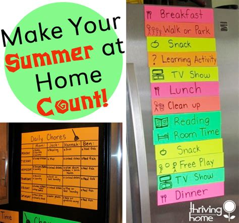 make your summer at home with count lots of