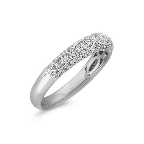 diamond vintage wedding band shane co