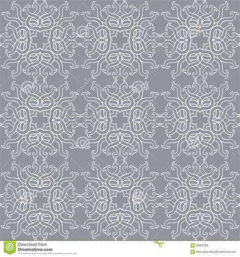 wallpaper grey print beautiful vector print seamless pattern mandala flowers