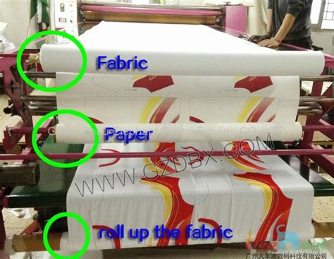%name digital printing on fabric   Roller Heat transfer printing machine for fabric   China