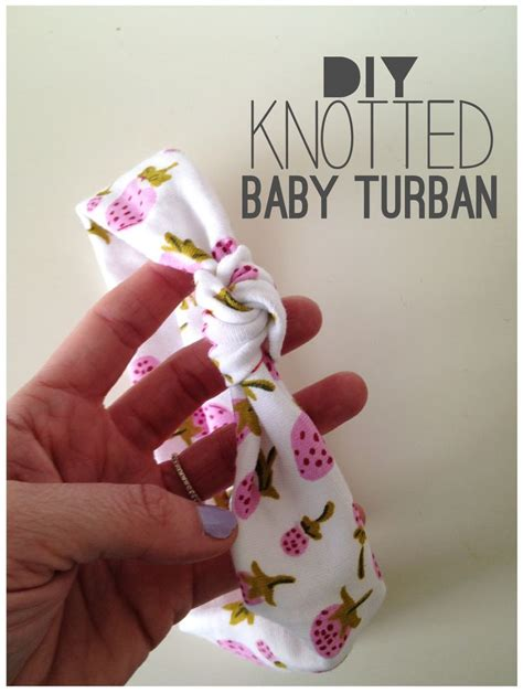 tutorial buat turban baby diy knotted baby turban could be adjusted to be an adult