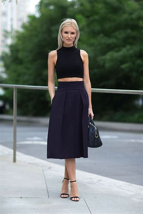 easy formula crop tops midi skirts closetful