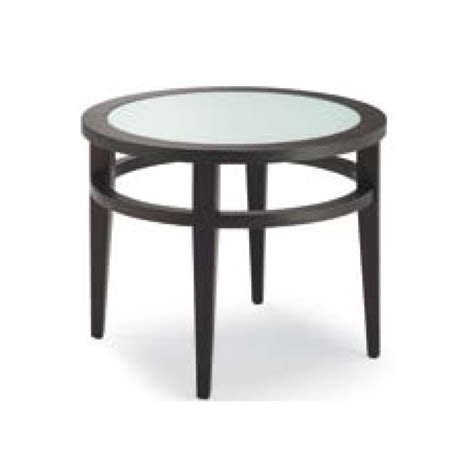 visions frosted glass black coffee table from ultimate