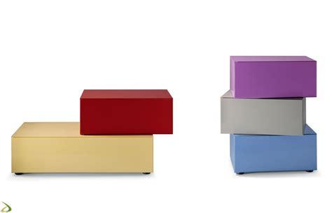 comodini colorati comodino componibile inclinato zoit arredo design