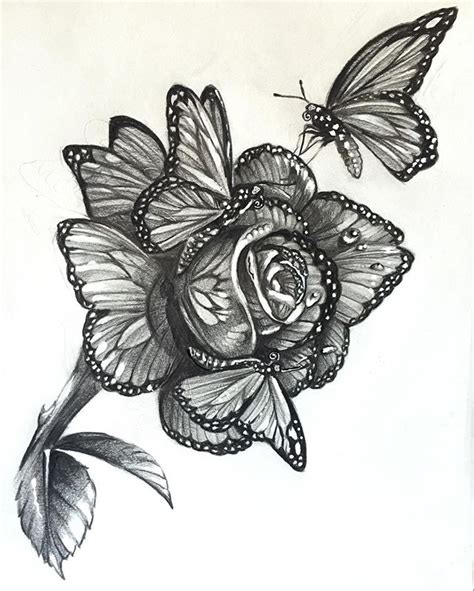 butterfly tattoo sleeve designs when butterflies get together and make a rose i give you