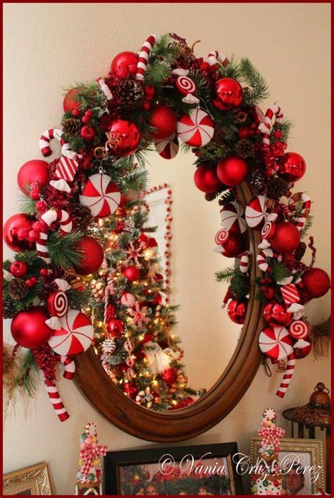 candy cane decor mantel decoration ornaments garland