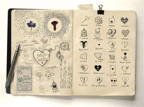 doodle journal 105 cool sketchbook illustrations for your inspiration