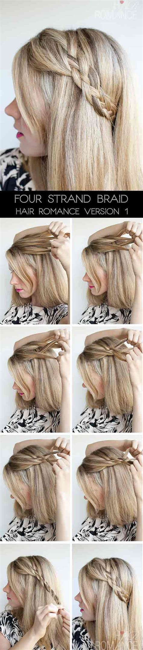 Hairstyles For School Step By Step With Pictures by Hair Braids Step By Step With Pictures Www Pixshark