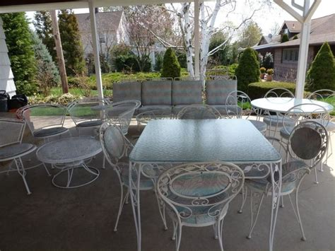 Vintage Wrought Iron Patio Furniture Makers Chairs Seating Outdoor Patio Furniture Manufacturers