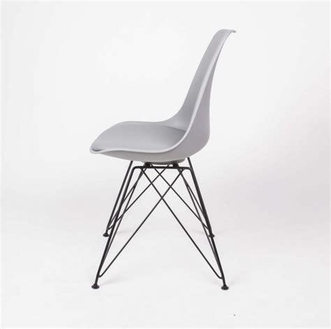 stuhl metallgestell design stuhl grau stuhl gepolstert grau mit metallgestell