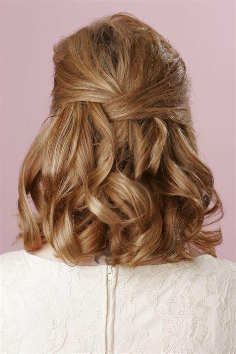 wedding hairstyles for medium length hair how to cute wedding hairstyles for shoulder length hair 2017