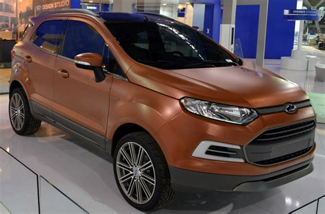 ecosport interior modified ford ecosport and beast concepts unveiled at