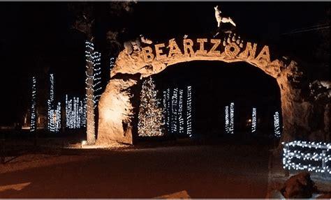 zoo lights phoenix groupon groupon over 50 off admission to bearizona s winter