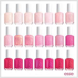 essie pink colors all shades of pink essie nail trendy