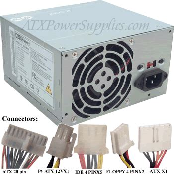 Power Supply Atx Spc 530 Watt pc power supply cables and connectors