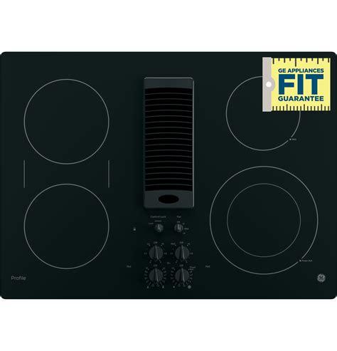 ge profile  downdraft electric cooktop ppdjbb