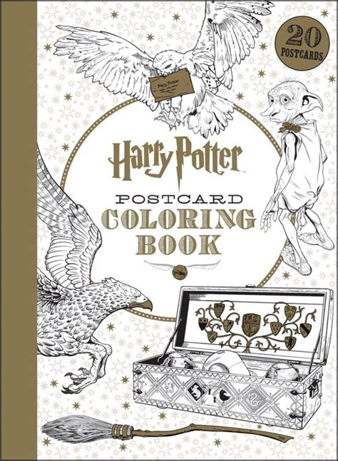 harry potter coloring book artifacts 5 official harry potter coloring books will be out by summer