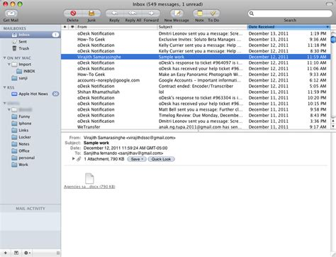 apple email aol mail account to apple mail using imap