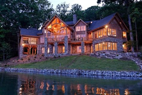 log home mansions log contemporary cabin mansion dream home pinterest