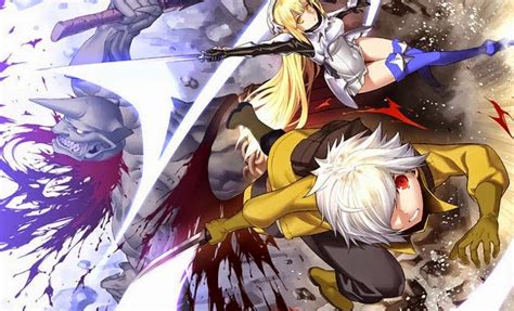 wallpaper anime danmachi review is it wrong to try to pick up girls in a dungeon