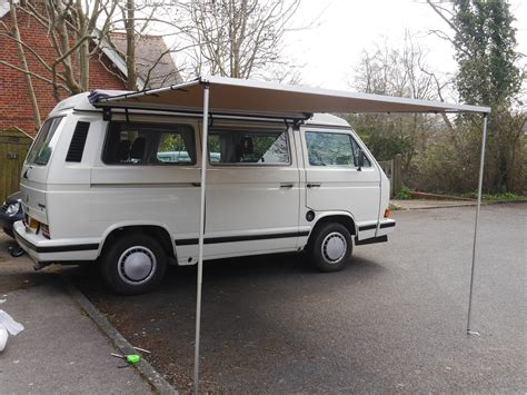 vw awning vw t25 t3 vanagon arb 2500mm x 2500mm awning with cvc